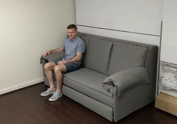 Transforming Sofa Bunk Bed Sleeps 3