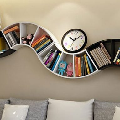40 Incredibly Cool Bookshelves That Are Unique