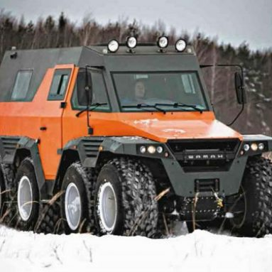 8×8 All Terrain Vehicle