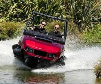 All-Terrain Amphibious Four-Wheeler