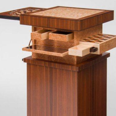 Automaton Mechanical Puzzle Table