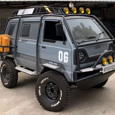 Bespoke Adventure-Ready Suzuki Battle Van
