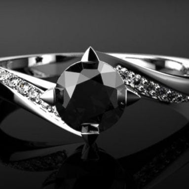 43+ Unique Black Diamond Engagement Rings You Can Buy