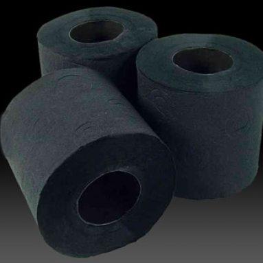 Black Toilet Paper