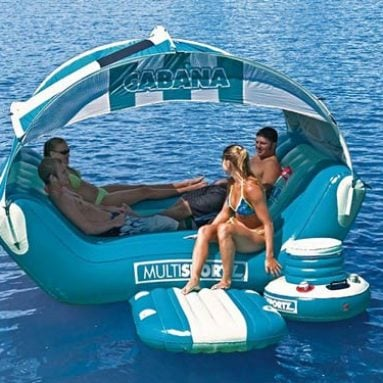 Cabana Islander Inflatable 6 Person Lounge