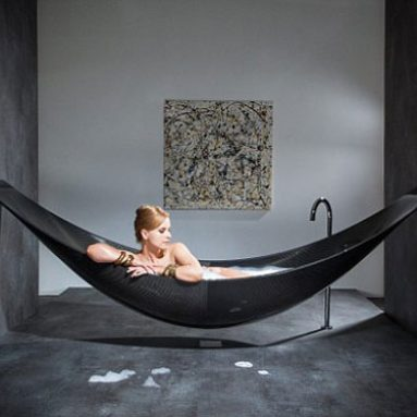 Carbon Fiber Hammock Bathtub