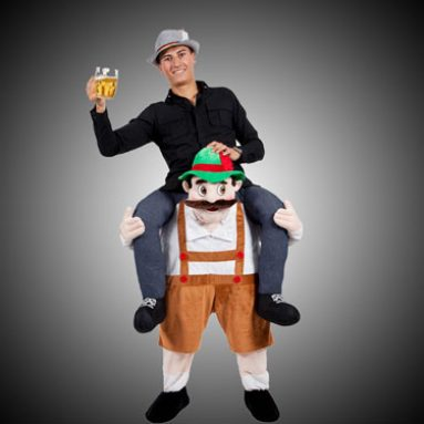 Carry Me Gnome Costume