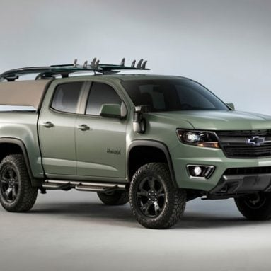 Chevrolet Colorado Pickup Surf Truck