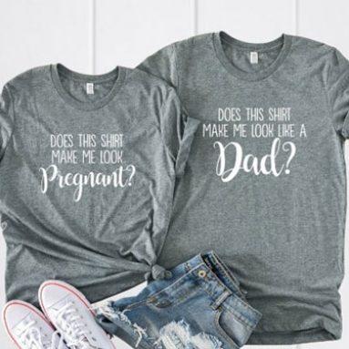 Couples Pregnancy Announcement Shirts
