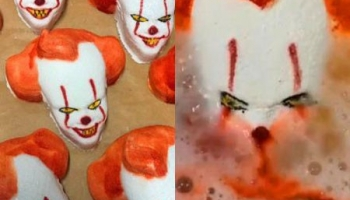 Creepy Pennywise Clown Bath Bomb