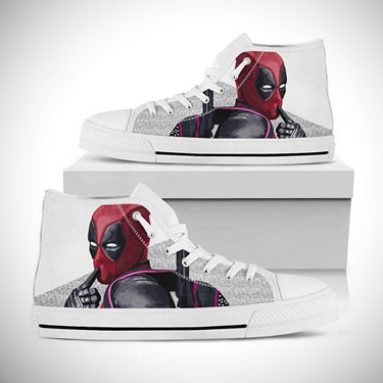 Custom Converse Deadpool Sneakers