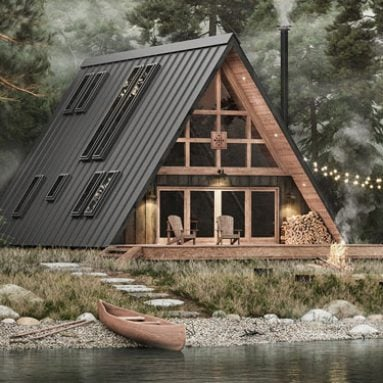 DIY A-Frame Cabin Kit
