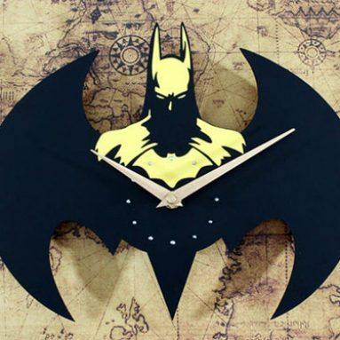 Designer Batman Wall Clock