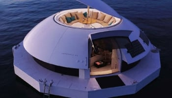 Eco-Conscious Anthenea Floating Hotel Suite