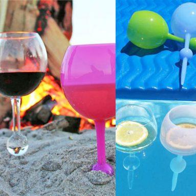 Floating Wine Glasses