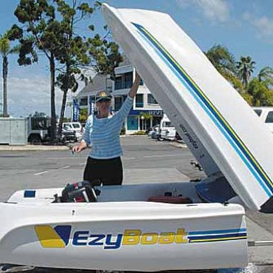 EzyBoat Folding Boat