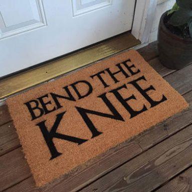 Game of Thrones Bend The Knee Doormat