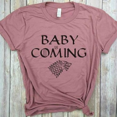 Game of Thrones Pregnancy Announcement Shirts