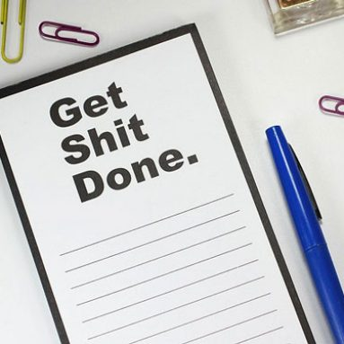 Get Shit Done Notepad