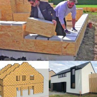 Giant LEGO-Like DIY House Building Blocks