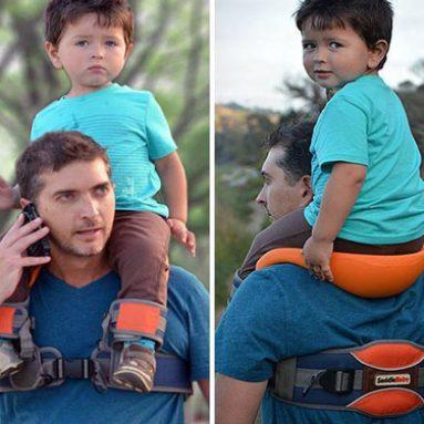 Hands-Free Kids Shoulder Carrier