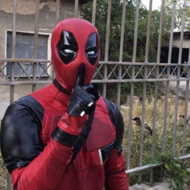 High-End Deadpool Costume