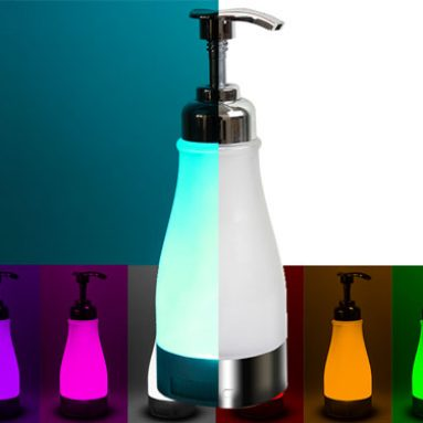 Illumisoap Night Light Soap Dispenser