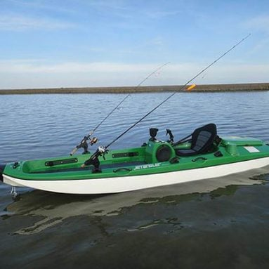 Jet Powered Fishing Kayak
