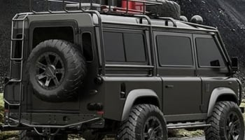 Land Rover's Defender 4×4 Adventure Van