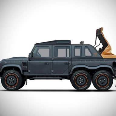 Land Rover Defender Flying Huntsman 6×6 Soft Top