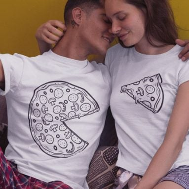 50+ Matching Couples Shirts and T-Shirts that are Cute and Funny