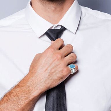 30+ Stylish Men's Gemstone Rings That Are Unique