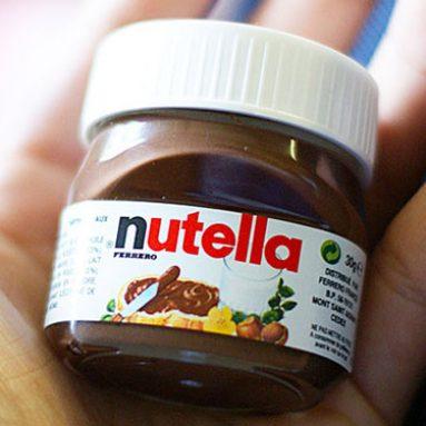 Mini Single-Serve Nutella