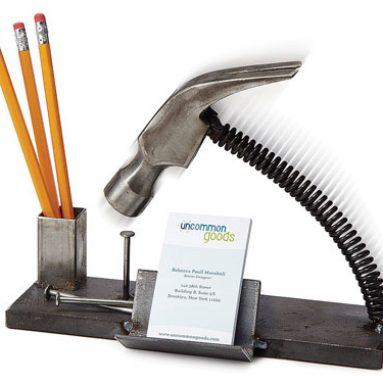 Nailed-It Desk Organizer