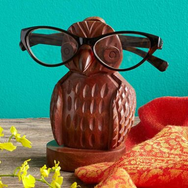 Owl Eye Glasses Holder