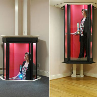 Unique living room accessories awesome stuff 365 for Personal elevators for the home