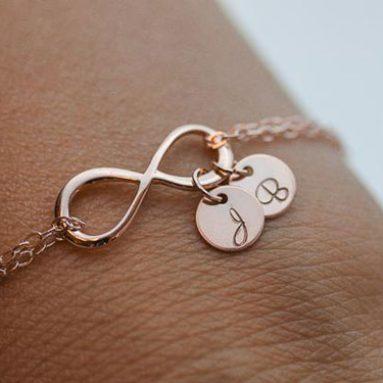 Personalized Infinity Bracelets