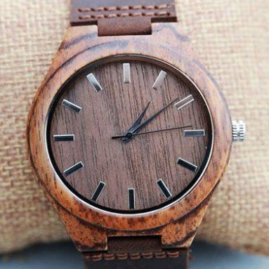 Personalized Wooden Groomsmen Watch