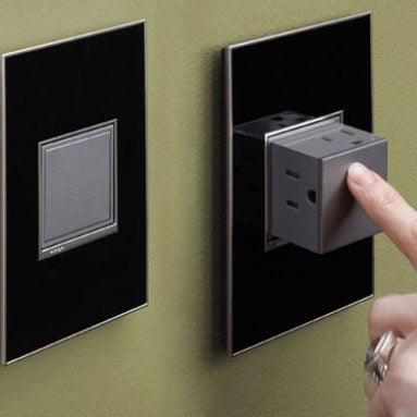 Pop-Out Electric Wall Outlets