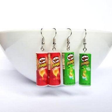Pringles Potato Chips Earrings