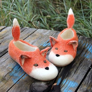 Red Fox Slippers