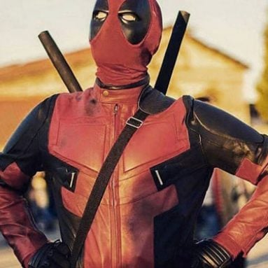 Replica Deadpool Motorbike Suit
