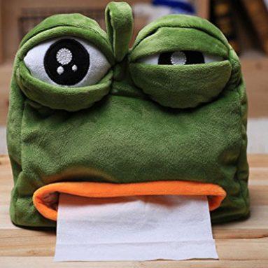 Sad Frog Tissue Dispenser Cover