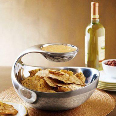 Scoop Chip and Dip Bowl