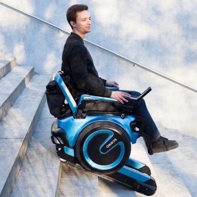 Self Balance Stair-Climbing Wheelchair