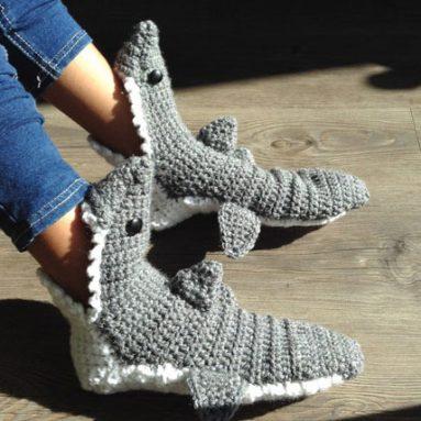 Shark Slippers