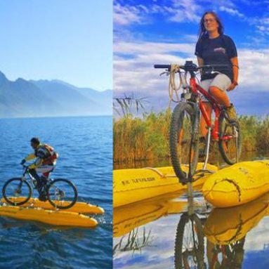 ShuttleBike Pontoon Bike Conversion Kit