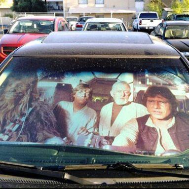Star Wars Sun Shade