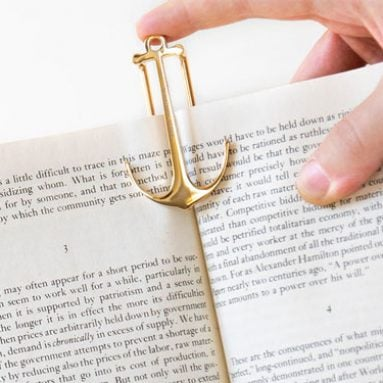 Swedish Anchor Bookmarks