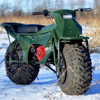 Tarus2×2: All-Terrain Folding Motorbike